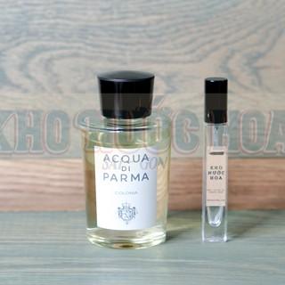 Nước hoa dùng thử Acqua Di Parma Colonia