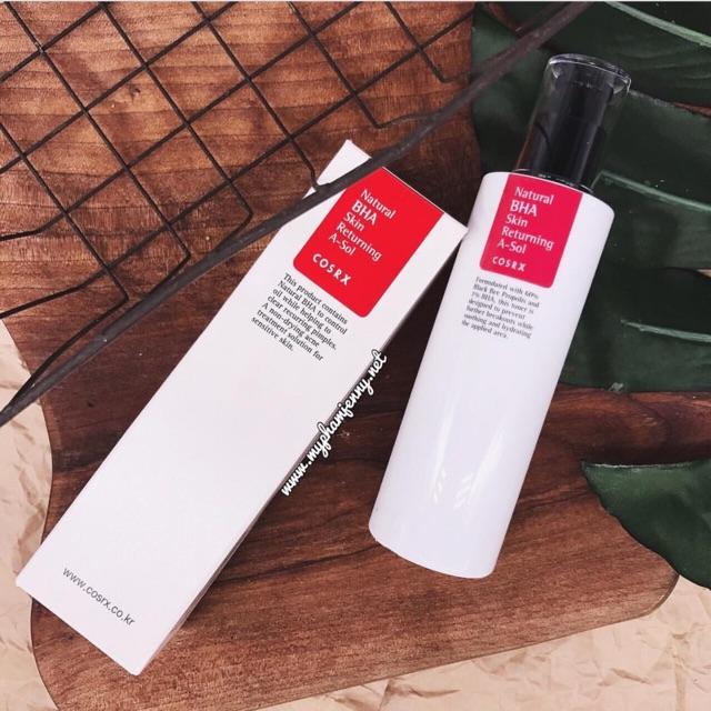 Nước hoa hồng COSRX Natural BHA Skin Returning A-Sol - 2432467 , 493718460 , 322_493718460 , 400000 , Nuoc-hoa-hong-COSRX-Natural-BHA-Skin-Returning-A-Sol-322_493718460 , shopee.vn , Nước hoa hồng COSRX Natural BHA Skin Returning A-Sol