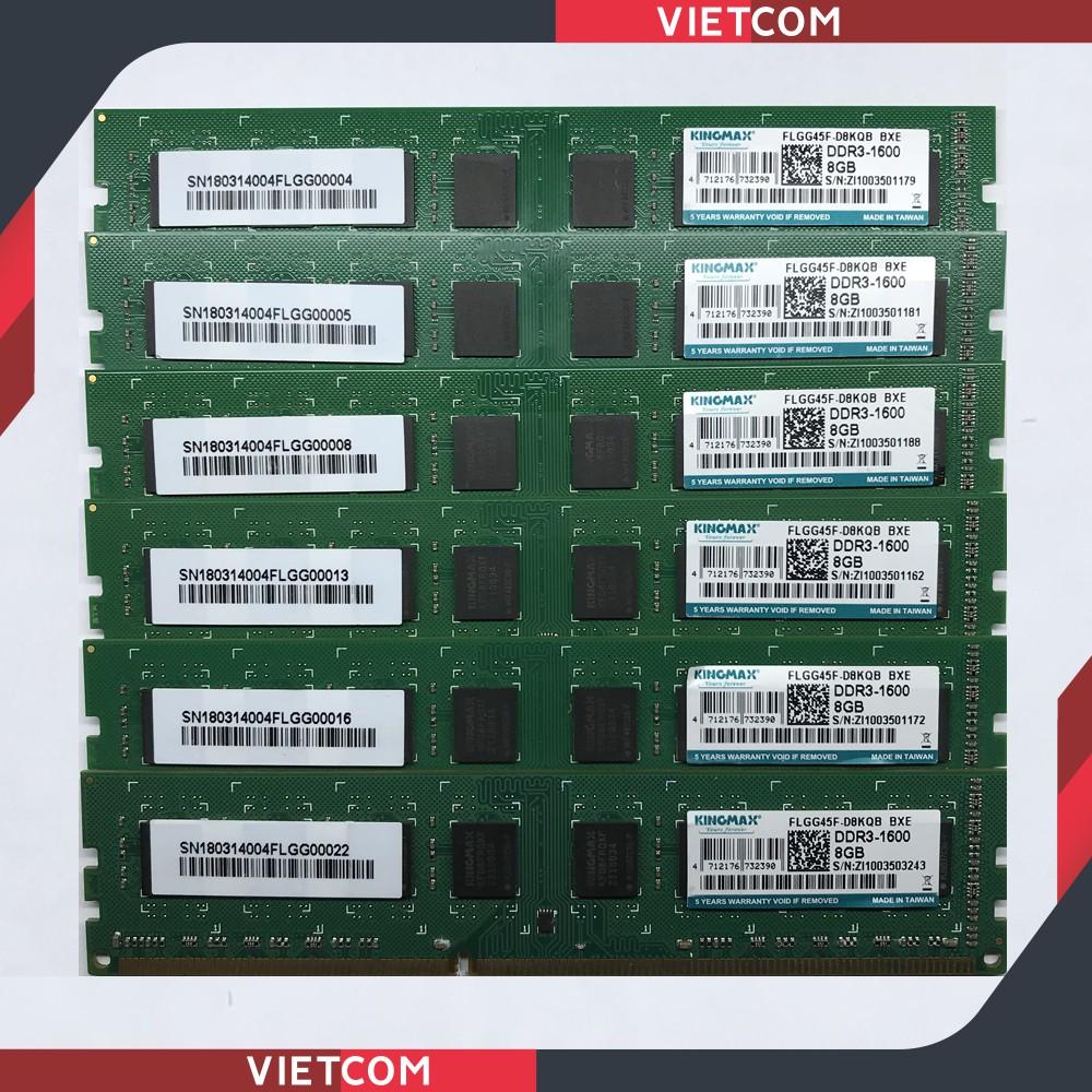 RAM PC DDR3 8Gb, 4Gb Bus 1600Mhz, Bus 1333Mhz - Hàng Phân Phối Chính Hãng