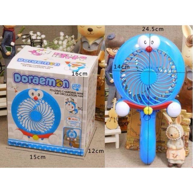 Quạt tích điện cầm tay Doremon, Hello Kitty - 2773738 , 1167106944 , 322_1167106944 , 150000 , Quat-tich-dien-cam-tay-Doremon-Hello-Kitty-322_1167106944 , shopee.vn , Quạt tích điện cầm tay Doremon, Hello Kitty