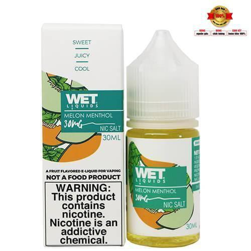 Pod System Wet Melon Menthol Dưa Gang Lạnh 30ml