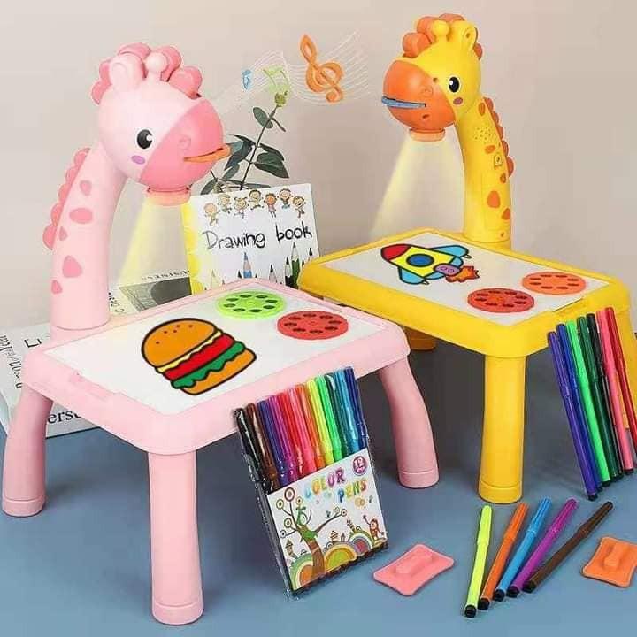 [Rẻ nhất shopee]Bàn Chiếu vẽ tranh cho bé – Bảng thông minh cho bé tập vẽ, viết