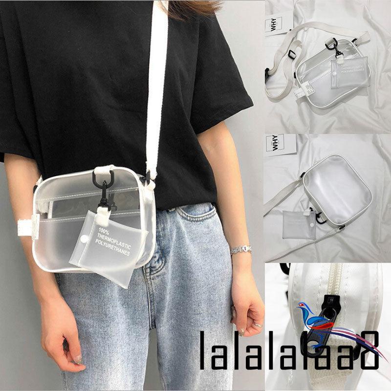 Túi xách nữ trong suốt kiểu dáng đơn giản thời trang