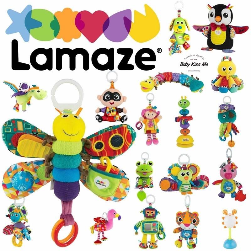 Treo nôi kèm đồ chơi phát triển các giác quan, kỹ năng cho bé Lamaze