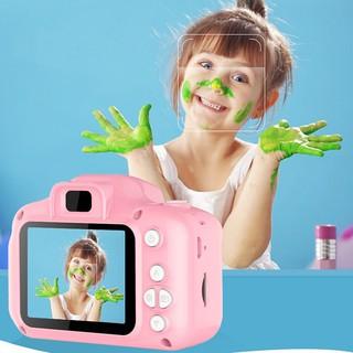 Máy ảnh kỹ thuật số mini màn hình 5cm cho bé kèm dây đeo tay + cáp sạc và phụ kiện thẻ nhớ - Máy ảnh mini cho bé