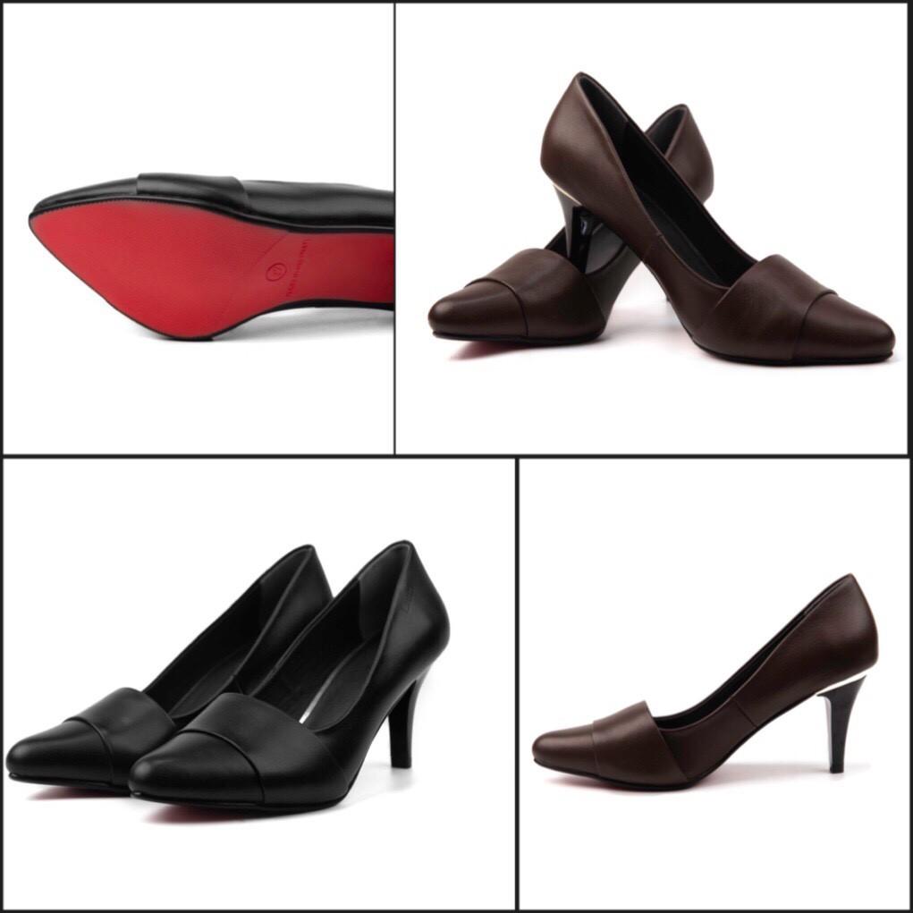 Giày cao gót da bò 7cm Lutra - 22324835 , 1540976865 , 322_1540976865 , 495000 , Giay-cao-got-da-bo-7cm-Lutra-322_1540976865 , shopee.vn , Giày cao gót da bò 7cm Lutra