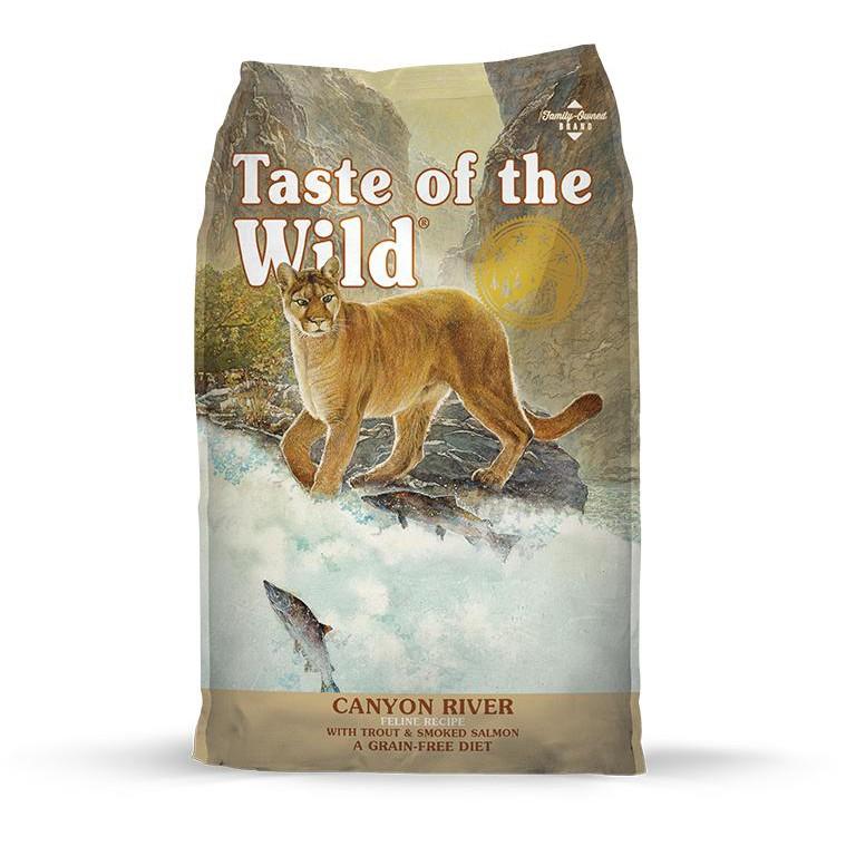 2.27 กก. (5 ปอนด์) - เทสต์ ออฟ เดอะ ไวลด์ อาหารแมวทุกวัย สูตรเนื้อปลา โฮลิสติก