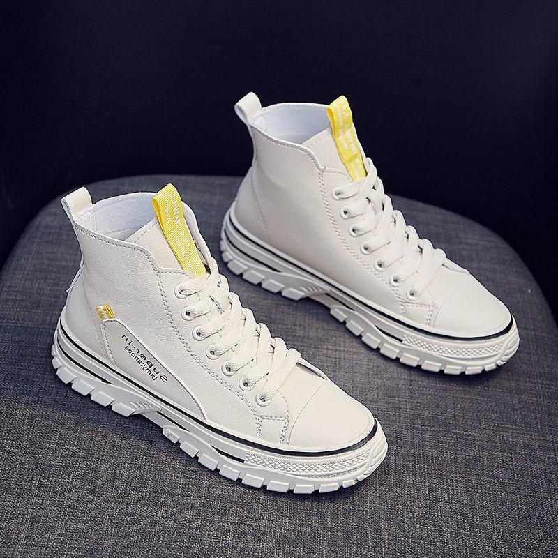 Giày thể thao nam cổ cao phong cách hip hop cá tính