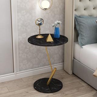 Bàn trà mini nghệ thuật màu đen, Decor nội thất phòng khách hiện đại