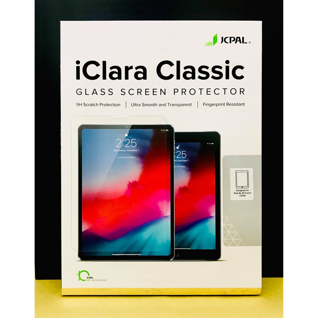Dán cường lực JCPAL iPad Pro 10.5 inch, Air 10.5 inch