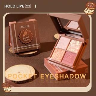 Bảng phấn mắt 4 màu HOLD LIVE xinh xắn Yue Mu Impression Eyeshadow Palette HL473 HLIV65 thumbnail