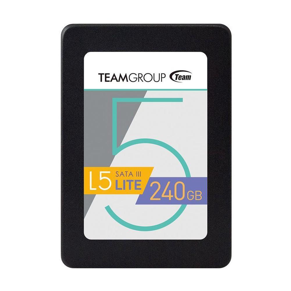 """Ổ cứng SSD 240GB L5 LITE 2.5""""Team Group Sata III (Bảo hành 3 năm đổi mới) - Hãng phân phối chính thức"""