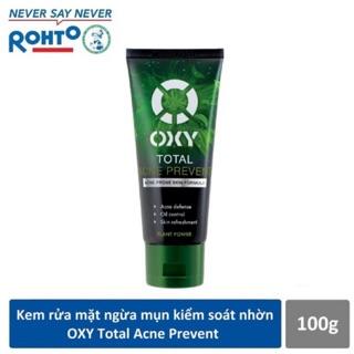 OXY Total Acne Prevent – Kem rửa mặt kháng khuẩn, kiểm soát nhờn, ngừa mụn 100g