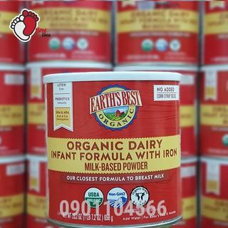 Sữa Earth's Best Organic Dairy 658g