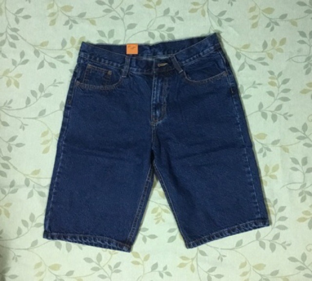 Quần sọt jeans căn bản - short jean nam