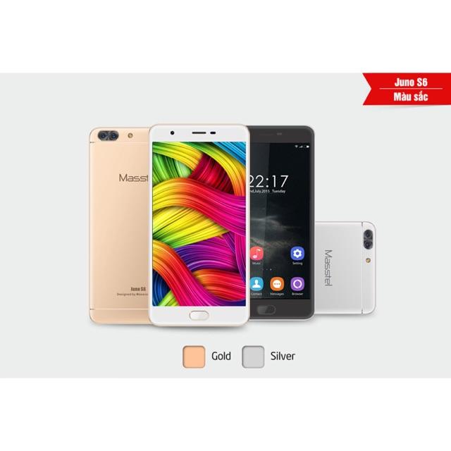 Điện thoại Masstel Juno S6 màn hình 5.5inch camera 13mp Ram 2Gb rom 16 Gb máy mới 100% bảo hành 12 t
