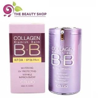 Kem nền BB Cellio Collagen SPF40 giúp trắng da và ngăn ngừa lão hóa 40ml - Màu 21 thumbnail