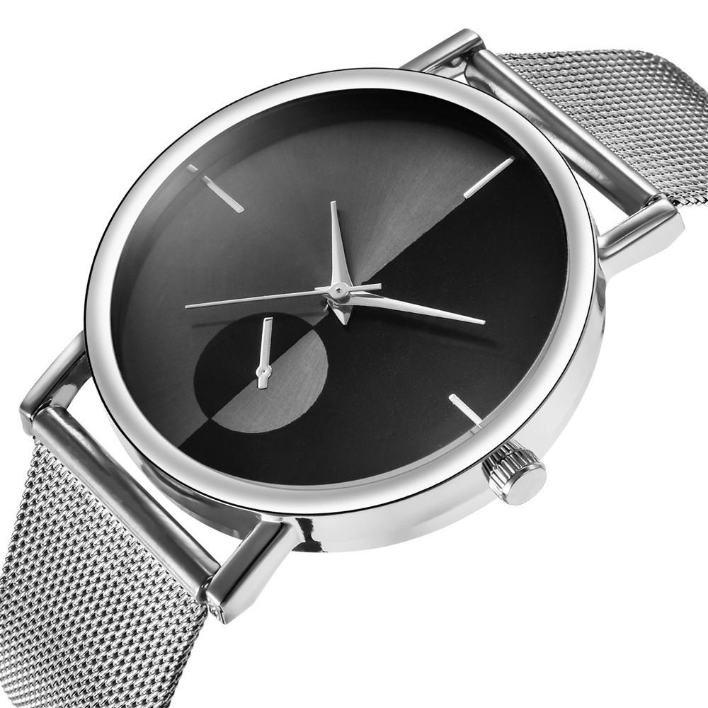 Đồng hồ nam - nữ thời trang dây lưới hợp kim Gaiety PKHRGA003