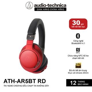 Tai Nghe Bluetooth Chụp Tai Audio Technica ATH-AR5BT Sử Dụng Liên Tục 30H - Hàng Chính Hãng