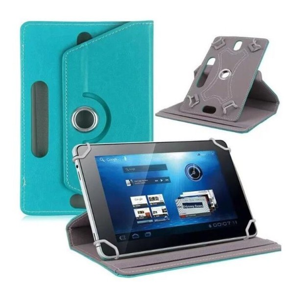 7/8/9/10 Inch Universal 360 Degree Rotating Four Hook Leather Tablet Protection