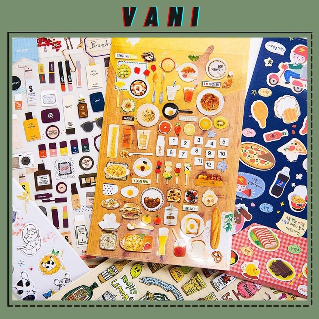 Phần 5 Sticker Dán Decor Nhiều Hình Ngộ Nghĩnh Dễ Thương - Vani Store