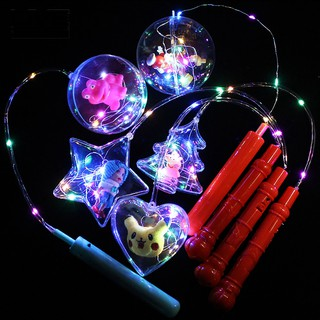 COD!! LED Lighting Doll Ball Heart Star Tree Pendant Lantern Toy
