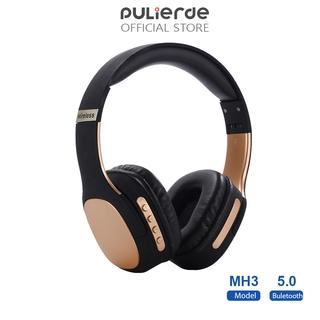 Tai Nghe Không Dây Pulierde MH3 Bluetooth 5.0 Chơi Game Chống Thấm Nước HIFI Loa Siêu Trầm 2020 Có Thể Gập Lại