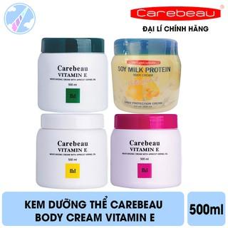 Kem Dưỡng Thể Carebeau Body Cream Vitamin E 500ml thumbnail