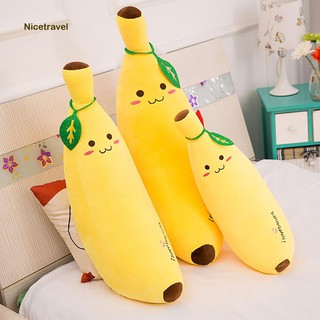 Cartoon Banana Stuffed Plush Doll Children Toy Sofa Pillow Decor Birthday Gift