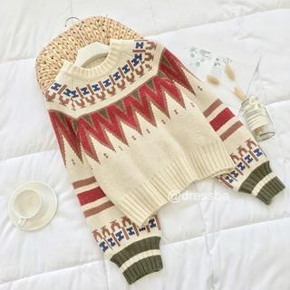 (CÓ SẴN) Áo len nữ dáng ngắn freesize