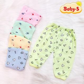 Quần chục dài cotton vải đẹp mềm mịn cho bé trai và bé gái 2-10kg cho bé mặc mát co giãn thoải mái Baby-S – SQVN001