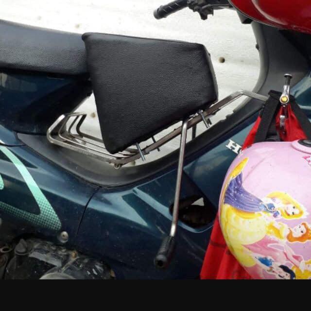 💖 Nệm, Ghế ngồi xe máy 💖 Xe Số, Xe AB,PCX , Yên Nệm, Không Tựa,Có Gác Chân,An Toàn Cho Bé