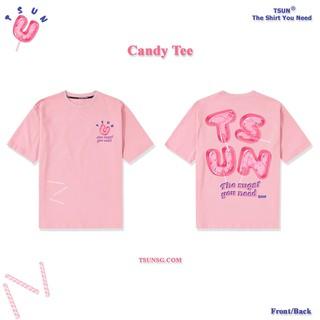 [Mã FASHION10KP giảm 10K đơn 50K] Áo Thun TSUN - Candy - Hồng thumbnail