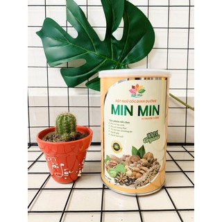 Ngũ cốc lợi sữa minmin hộp 500g (free ship)