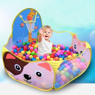 Lều bóng hình thú kèm 200 bóng nhựa cho bé yêu – bB – siêu rẻ