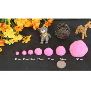 200pcs festival DIY craft pompon felt card DIY creative decoration