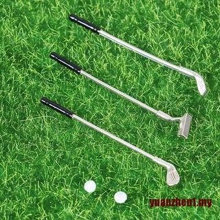 Set 5 Mô Hình Gậy Đánh Golf Mini Tỉ Lệ 1: 12 Dùng Để Trang Trí Nhà Búp Bê