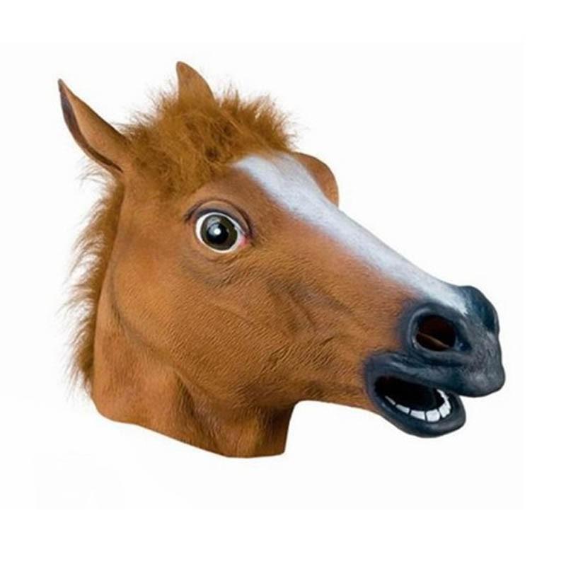 Mặt Nạ Đầu Ngựa Bằng Cao Su