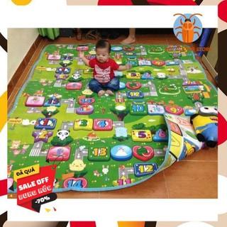 [ SALE ] Thảm xốp Maboshi 2 mặt cho bé vui chơi thỏa thích 1m8x2m