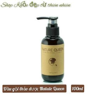 Nature Queen - Dầu gội thảo dược ngăn ngừa rụng tóc, kích thích mọc tóc 100ml, Sao Thái Dương thumbnail