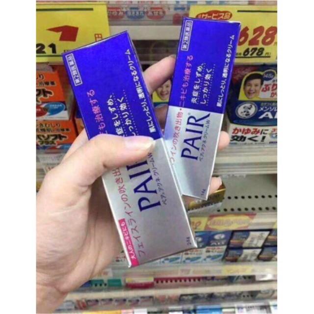 Kem trị mụn Pair Acne W Cream Gel 24g Nhật Bản - 3084463 , 972980353 , 322_972980353 , 175000 , Kem-tri-mun-Pair-Acne-W-Cream-Gel-24g-Nhat-Ban-322_972980353 , shopee.vn , Kem trị mụn Pair Acne W Cream Gel 24g Nhật Bản