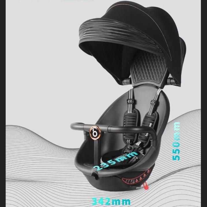 FREE SHIP ! Xe đẩy tiện lợi Baobaohao V8 thế hệ mới MẪU MỚI NHẤT 2021 - HỒNG