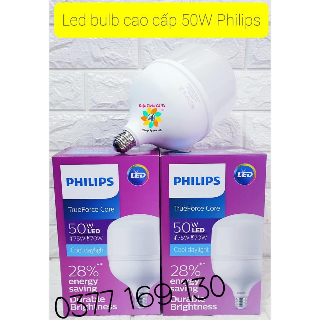 Bóng đèn LED Bulb Cao Cấp 50W Philips bảo hành 24 tháng