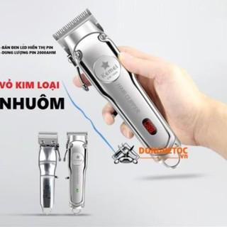 Tông đơ cắt tóc không dây chuyên nghiệp Kemei 1996 – CHÍNH HÃNG
