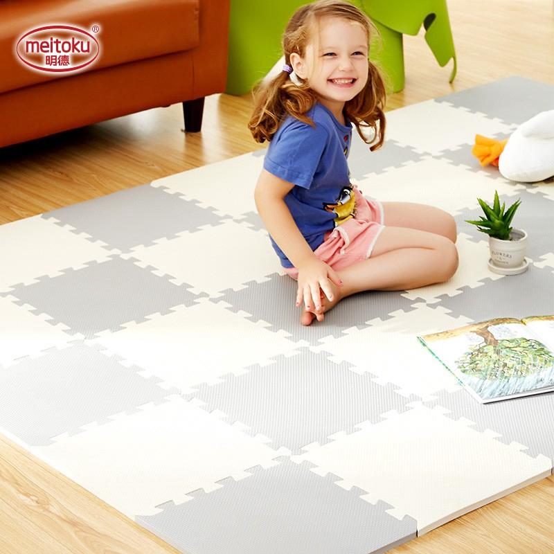 36pcs / set eva bọt bé chơi câu đố mat cho trẻ em sàn thảm thảm 30x30x1.4cm