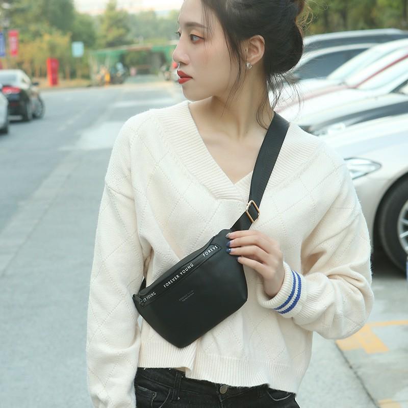 Túi đeo chéo nữ cá tính đi chơi nhiều ngăn PIERRE LOUES dễ thương TX499
