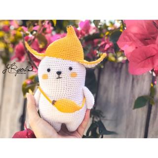 Chuối Nhồi Bông Handmade Siêu Cute – Hàng Handmade Không Đại Trà, Không Đụng Hàng