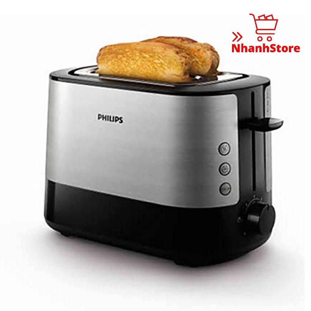 Máy nướng bánh Sandwich Philips HD2637