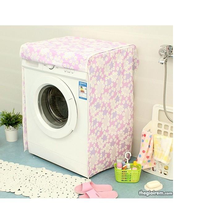 Combo bọc máy giặt cửa ngang+rỏ đựng rẻ rửa bát+miếng dán toilet, 6 nắp ổ điện, bát trộn mặt nạ, túi