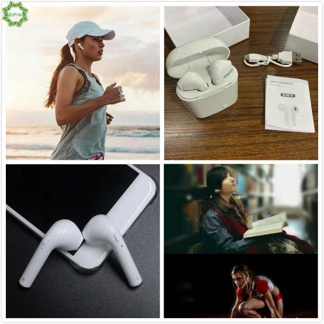 Bộ tai nghe không dây HBQ i7s / i8tws mini kết nối Bluetooth